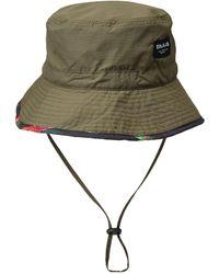 Bula Printed Lining Bucket Hat - Green