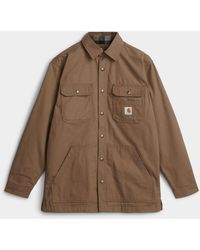 Carhartt Ripstop Worker Overshirt - Brown