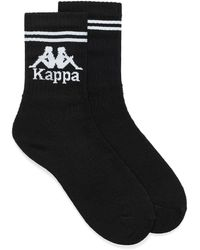 Kappa Authentic Aster Crew Socks - Black