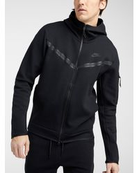 Nike Sportswear Tech Pack Windrunner Full-zip Hoodie (black) - Clearance Sale