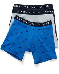 Tommy Hilfiger - Stretch Cotton Boxer Briefs 3 - Lyst