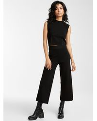 Icône Structured Knit Wide - Black