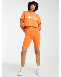 Ellesse Logo Bike Short - Orange