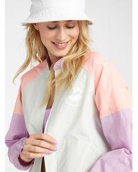 Billabong Pastel Block Windbreaker Jacket - Multicolour