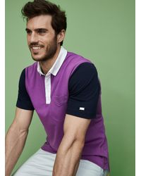 Nike Player Color Block Structured Polo