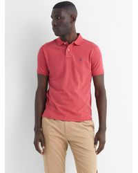 Polo Ralph Lauren Iconic Solid Piqué Polo - Red