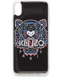 KENZO Tiger Iphone Xs Max Phone Case - Black