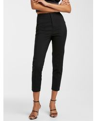 Icône Stretch Cotton Slim Pant - Black