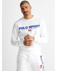 Polo Ralph Lauren Polo Sport Logo Sweatshirt - White