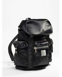Anello Multipocket Utility Backpack - Black