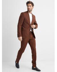 Tiger Of Sweden Jamonte Rust Suit Slim Fit - Brown