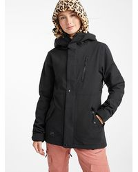 Volcom Ashlar Insulated Coat Fitted Style - Black