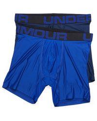 Under Armour Tech Boxerjock Boxer Brief 2 - Blue