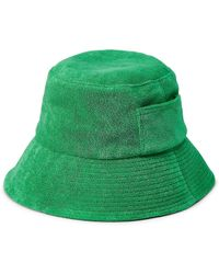 Lack of Color Wave Terry Bucket Hat - Green