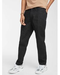 Obey Bender Worker Jean Loose Tapered Fit - Black