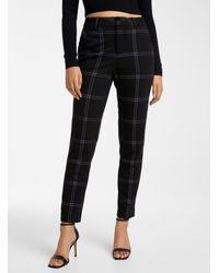 Icône Engineered Jersey Straight Pant - Black