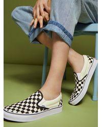 Vans - Asher Slip On Sneakers - Lyst