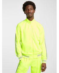 Ovadia Ball Zipped Sweatshirt - Yellow