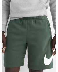 Nike Swoosh Sweat Short - Green