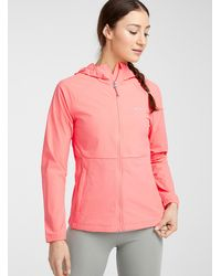 Columbia Boulder Path Stretch Shell Active Fit - Pink