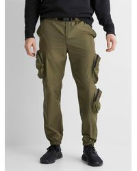 Only & Sons Utility Fabric Cargo sweatpants - Green
