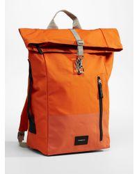 Sandqvist Dante Vegan Backpack - Orange