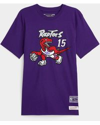 Mitchell & Ness Carter 15 T - Purple