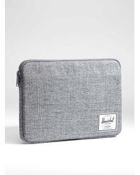 Herschel Supply Co. 13-inch Anchor Laptop Case (women, Gray, One Size)