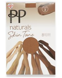 Pretty Polly Natural Stockings - Pink