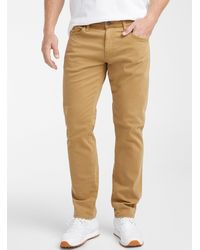 Mavi Marcus Pant Straight Fit - Natural