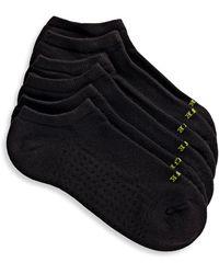 Hue Air Ped Socks Set Of 3 - Black
