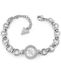 Guess - Un4gettable Chain Bracelet - Lyst