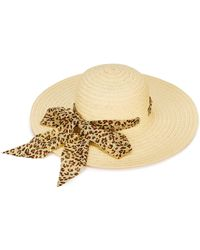 Simply Be - Chiffon Band Floppy Hat - Lyst