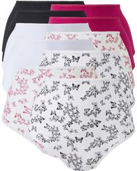 Simply Be - Naturally Close 10 Pack Full Fit Briefs - Lyst