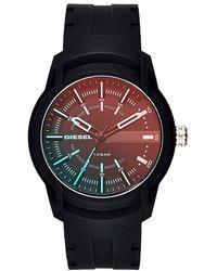 DIESEL - Unisex Armbar Silicon Watch - Lyst