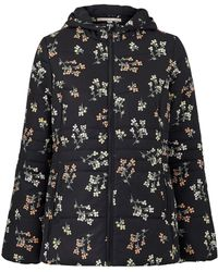 Simply Be - Print Padded Coat - Lyst