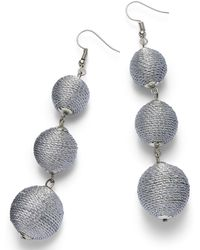 Simply Be - Ball Drop Earrings - Lyst