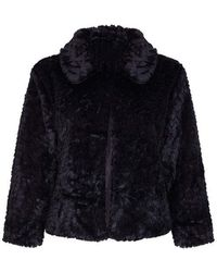 Fantasie - Mela London Curve Faux Fur Jacket - Lyst