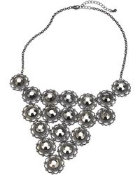 Simply Be - Circle Link V Collar - Lyst