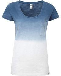 Tog 24 - Tog24 Estella Womens Dip Dye T-shirt - Lyst