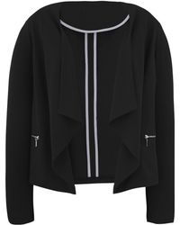 Simply Be - Waterfall Tailored Jacket - Lyst