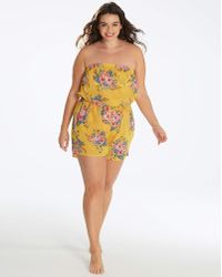 Simply Yours - Bandeau Playsuit - Lyst