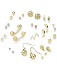 Simply Be - 16 Piece Multi Pack Of Earrings - Lyst