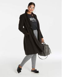 Simply Be - Fit And Flare Coat - Lyst