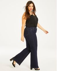 Simply Be - Everyday Wide Leg Jeans - Lyst