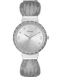 Guess - Ladies Chiffon Mesh Watch - Lyst