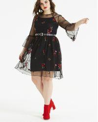 Lyst - For Love   Lemons Emerie Lace Cutout Dress - 100 ... c2dc7ae95