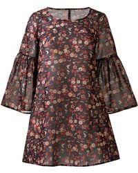AX Paris - Ditsy Print Swing Dress - Lyst
