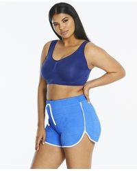Simply Be - Edited By Amber Rose Track Shorts - Lyst