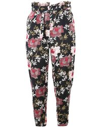 J SHOES - Koko Floral Paper Bag Trousers - Lyst